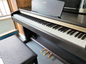 88鍵電子ピアノ YAMAHA 備品 無料 貸し出し 大宮ラージスレンタルスタジオ